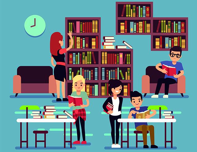 Een kijkje in de HR-bibliotheek
