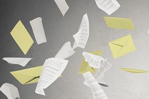 Zie jij door de stortvloed aan e-mails het bericht nog wel?